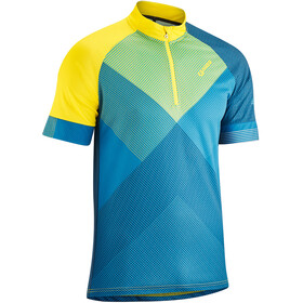 Gonso Mold Kortärmad cykeltröja Herr gul/blå